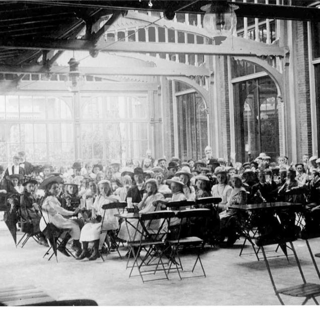 13_serre ledenlokalen ca 1900