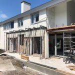 Vooraanzicht van de uitbreiding en restyling woonhuis Verlengde Marnixstraat Alphen aan den Rijn