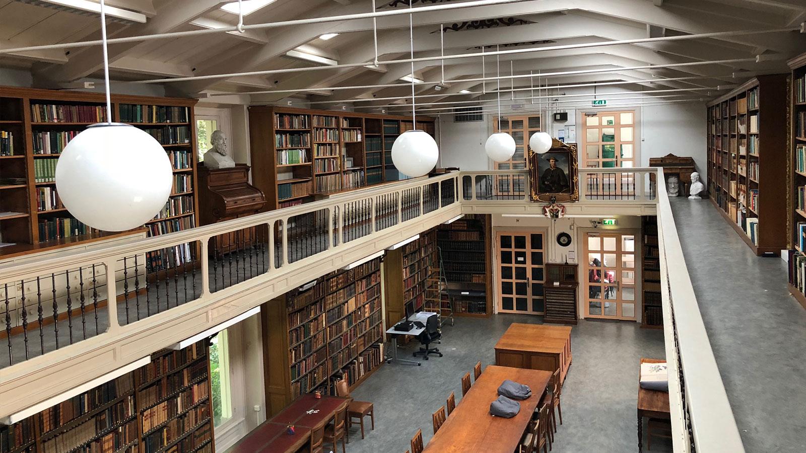 Artis bibliotheek fundering