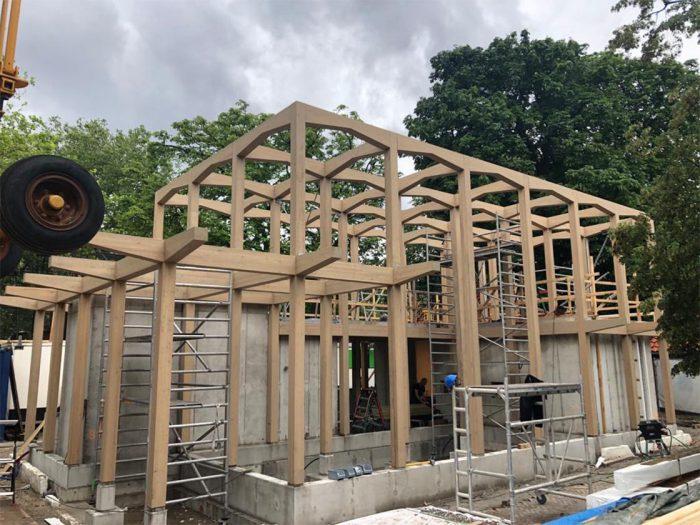 Voortgang bouw Gibbonverblijf ARTIS