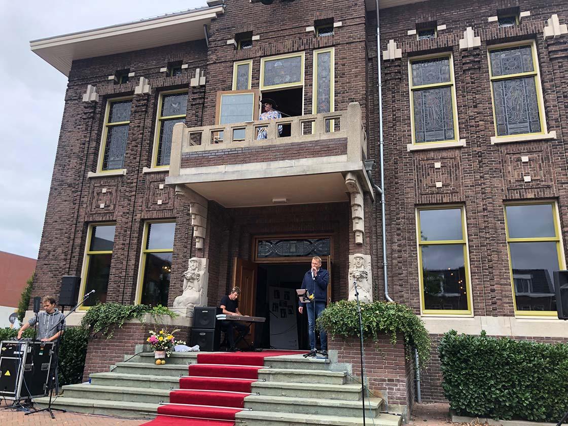 De opening van het Raadhuis