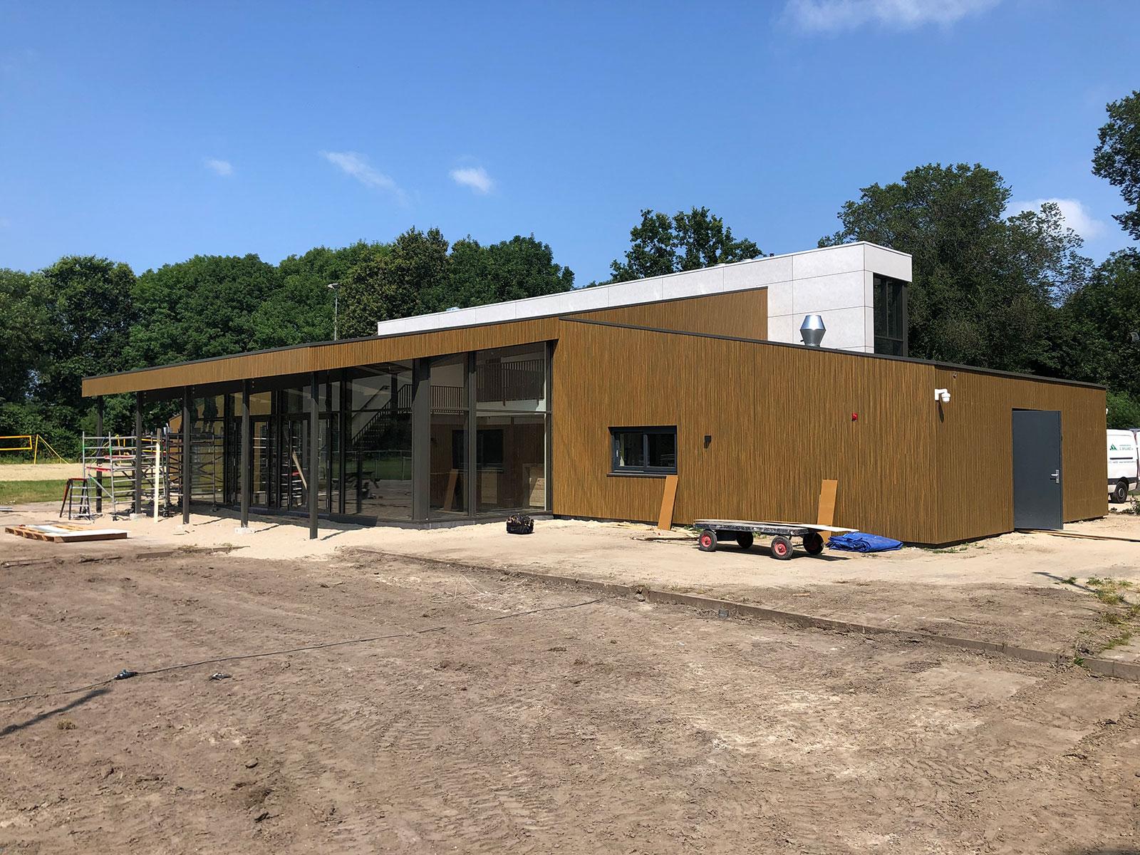 Oplevering KV Tempo clubgebouw 2021